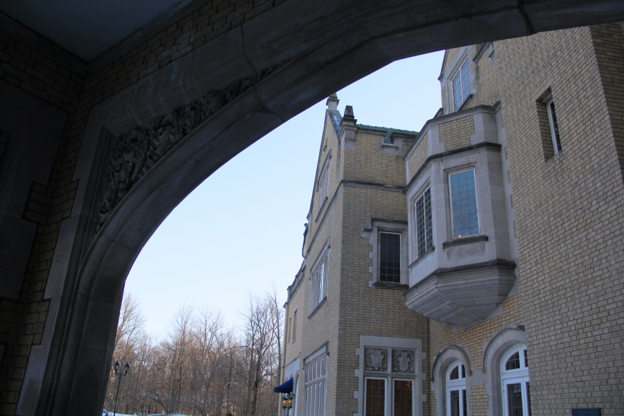 Laurel Hall Arch